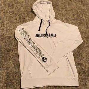 Men's American Eagle Graphic Hoodie Tee